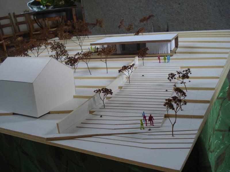 Gemeindehaus Modell