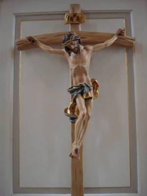 Kreuz evangelische Kirche Züsch