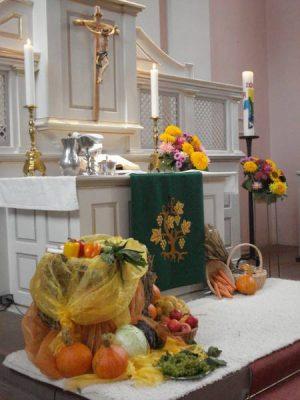 Altar evangelische Kirche Züsch