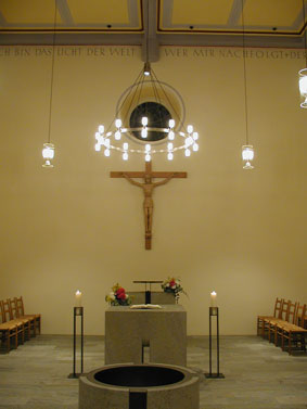 evangelische Kirche Hermeskeil Innenraum