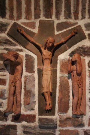 Kreuz evangelische Kirche Mariahütte