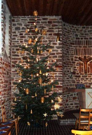 Weihnachten evangelische Kirche Mariahütte