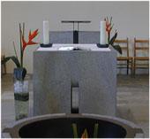 Altar evangelische Kirche Hermeskeil
